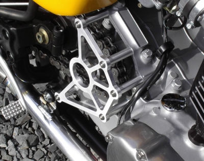 JG NewBonneville Custom Sprocket Cover