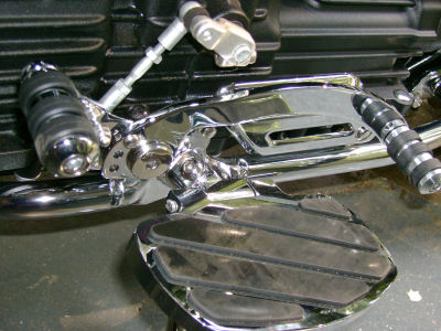 Heel Toe Shifter By Rivco For The New Triumph Rocket Iii