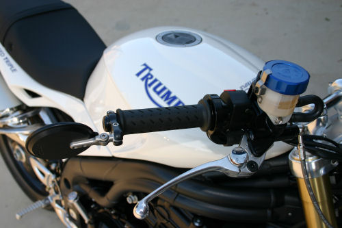 Bar End Mirrors For The New Triumph Speed Triple