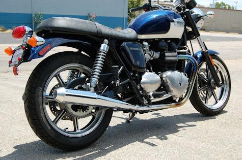D&D Exhaust for the Triumph Bonneville SE