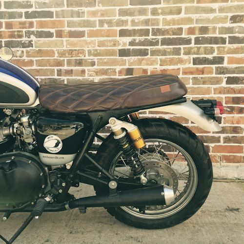 Kickass Custom Seats Triumph Bonneville Scrambler And Thruxton