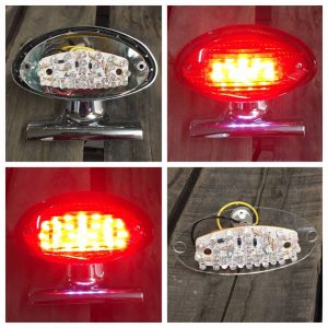 Stock Taillight LED Array System Triumph Bonneville, Thruxton and Scrambler