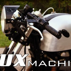 Lux Machine Headlight Wing