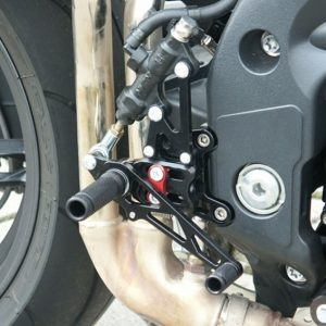 LSL Adjustable Rearsets 1050 Speed Triple