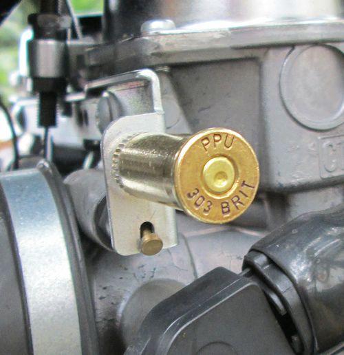 British 303 Shell Casing Choke Knob Newbonneville