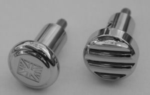 Custom Chrome Choke Knobs