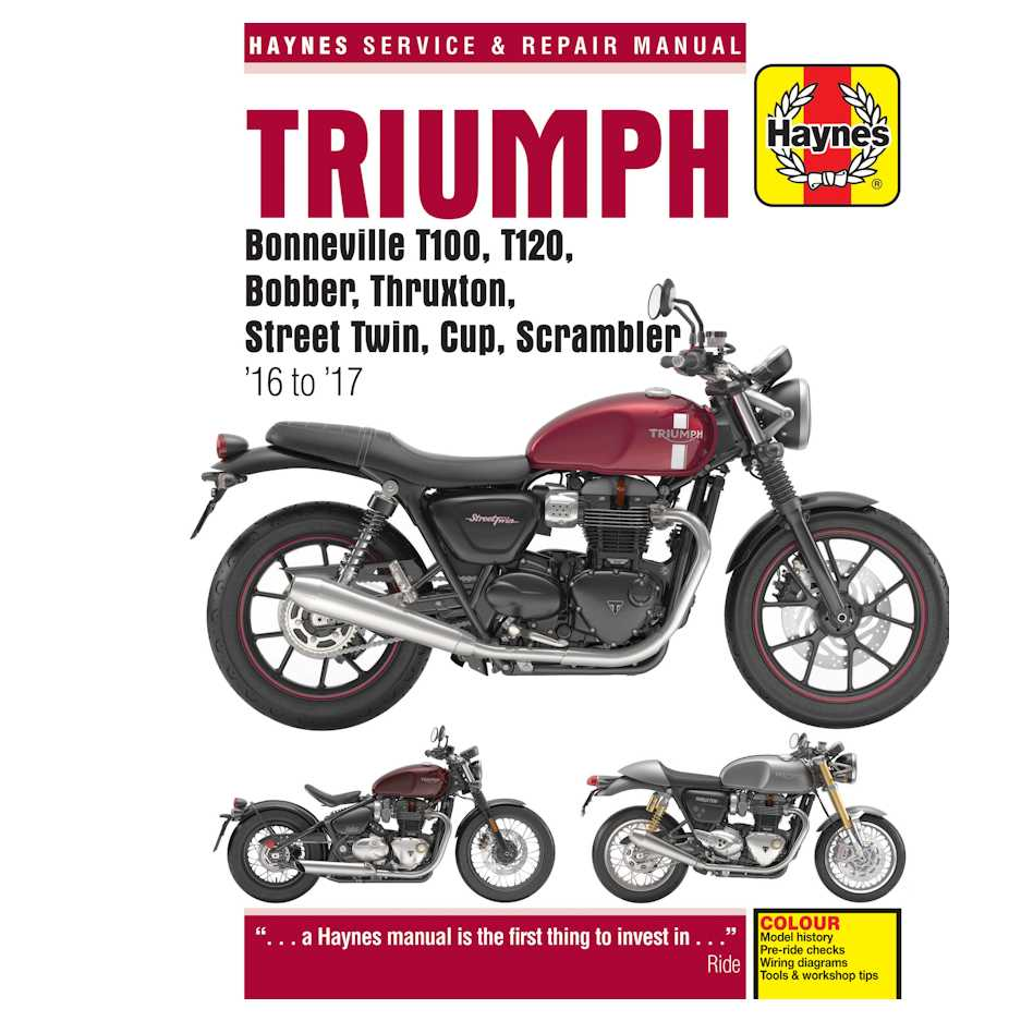 Triumph Bonneville Bobber Wiring Diagram Largest 1970 Trophy 650 Haynes Manual For Water Cooled Twins Newbonneville Rh Com Motorcycle Diagrams