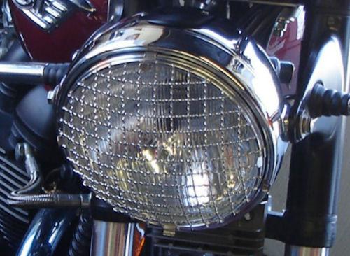 Headlight Stone Guard Triumph Bonneville Scrambler And Thruxton