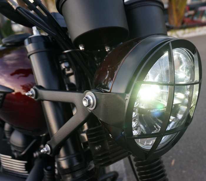 Iron Cobras Headlight Grill Triumph Bonneville And Thruxton