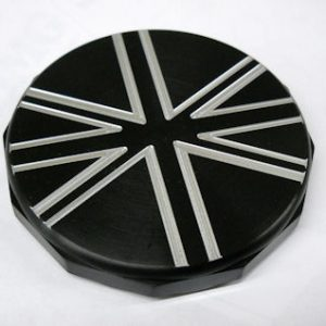 LCF Custom Union Jack Gas Cap for the Triumph Bonneville, Thruxton, Scrambler, Adventurer, Legend and Thunderbird Sport